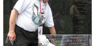 Brian Duffy on Honor Flight