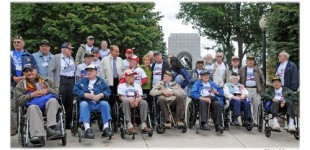 Eight State Honor Flights at World War II Memorial