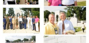 Northern Valley Honor Flight Visits World War II Memorial
