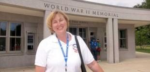 """I shop at Hyvee!....Iowa Visits World War II Memorial"