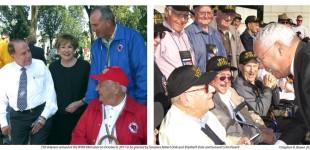 750 Veterans visit WWII Memorial