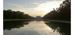REFLECTING POOL ALMOST REFLECTING