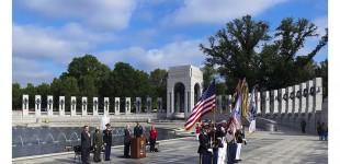 VE DAY: WWII Memorial