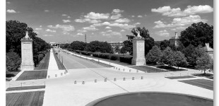 WWII Memorial Images at Women In Military Service to America Museum