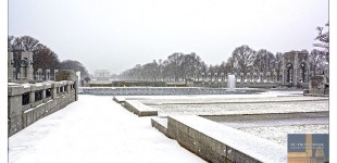 "WWII Memorial in the ""Snow"""