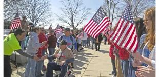 Honor Flights Rock the WWII Memorial
