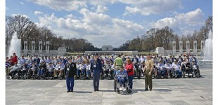 Chicago Honor Flight:  Precision Drill
