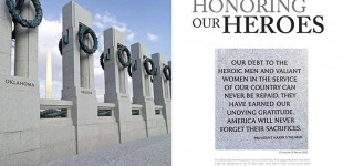WWII Memorial:  Honoring our Heroes 2014